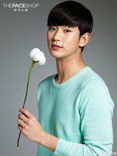 Kim Soo Hyun for The Face Shop ❤️ JYJ Hearts
