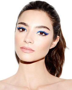 Eye Makeup Tips – How To Apply Eyeliner – Makeup Design Ideas Eyeliner Make-up, Eyeliner Brown Eyes, How To Do Eyeliner, Eyeliner Ideas, Makeup Inspo, Makeup Inspiration, Makeup Tips, Beauty Makeup, Eyeliner