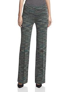 M Missoni Women's Knit Pant (Brown Multi)
