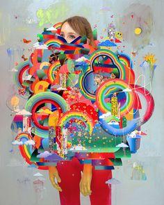 "Erik Jones's ""Twenty Sixteen"" at Jonathan LeVine Gallery.Opening on Saturday, April at New York City's Jonathan LeVine Gallery is Erik Jones's (Previously on Supersonic) solo exhibition ""Twenty. Eric Jones, Photocollage, Meet The Artist, Artist Profile, Beautiful Drawings, Art Inspo, New Art, Gallery, Instagram"