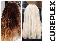 Amazing Cureplex results! Damaged Hair Repair, Bleach, Salons, Hair Color, Hair Beauty, Long Hair Styles, Salon Ideas, Twists, Google Search