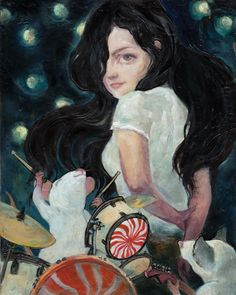 Meg White by Kat Friday : FACT
