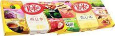 Nestle Regional Limited Kit Kat Eastern Japan Set