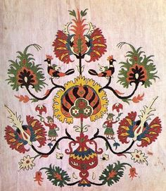traditional Greek embroidery