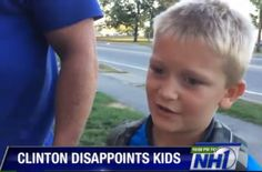 Hillary Stiffs the Kids – Skips Event After They Decorated All Day Just for Her (VIDEO)  Jim Hoft Sep 18th, 2015