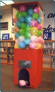 giant gumball machine prop - Google Search