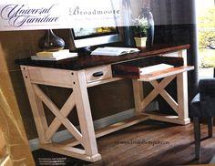 Universal Furniture Broadmoore Writing Desk. #Costco #FrugalHotspot #WishList