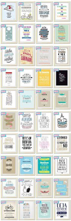 Cuadros Originales Modernos Personalizados Frases by marquita Más