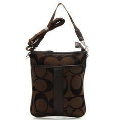Buy Coach Legacy Swingpack In Signature Small Coffee Crossbody Bags AIF