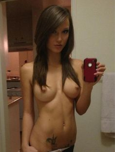 Perfect nude selfie