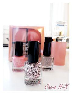 H&M nail polish and blusher/highlighter Blusher, Nail Polish, Lipstick, Nails, Accessories, Beauty, Finger Nails, Lipsticks, Ongles