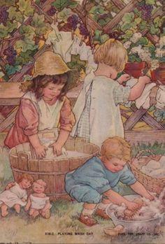 Illustration de Clara M Burd