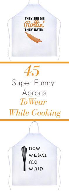 funny aprons