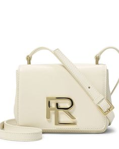 Mini RL Nappa Leather Bag - Ralph Lauren Hobos & Shoulder Bags