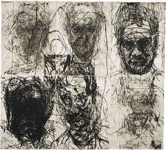 Mike Parr, Language and Chaos (1989-90)
