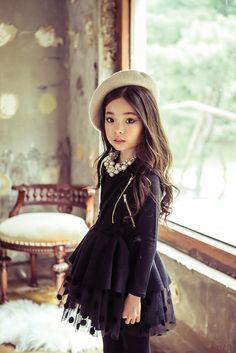Suede Ruffle Lace Dress