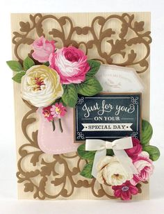 Just For You ~ Chalkboard Stamps
