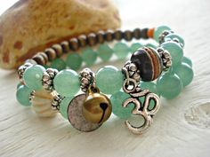 Hey, I found this really awesome Etsy listing at https://www.etsy.com/listing/169514850/yoga-bracelet-yoga-jewellery-om-bracelet