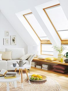 Die 90 besten Bilder von Leben unterm Dach - Wohnen mit Dachschrägen ...