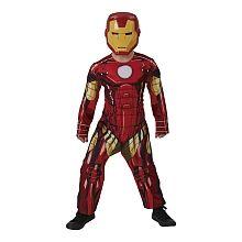 Os Vingadores - Disfarce Reversível Iron Man ou Capitão América