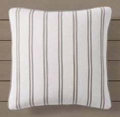 Custom Perennials® Marseille Racing Stripe Pillow Cover