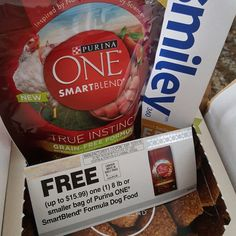 Smiley360.com Free Sample - Purina ONE SmartBlend True Instinct Grain-Free Formula Dry Dog Food - #ONEDifference