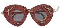 *  Cork Sunwear1950's - Elsa Schiaparelli
