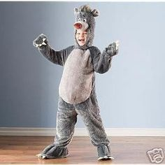 The Jungle Book Classic Disney Store Deluxe Plush Baloo Costume 2 3