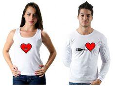 Excelente dica de Camiseta : Excelente dica de Camiseta para o Dia dos Namorados! http://www.camisetasdahora.com/ | camisetasdahora