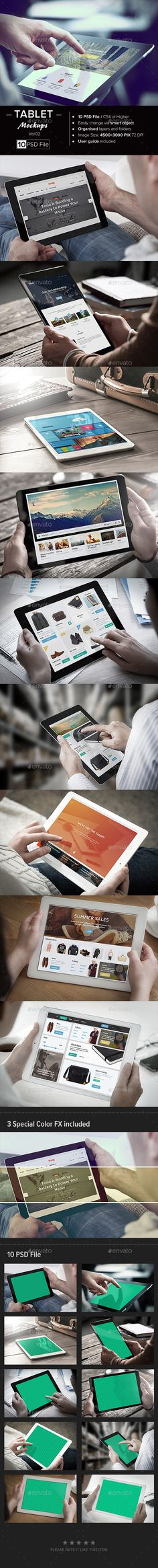 Tablet Mock-Up #design Download: http://graphicriver.net/item/tablet-mockup-vol-02/12497547?ref=ksioks