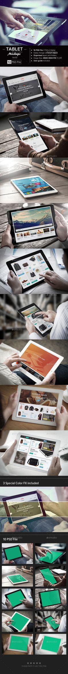 Tablet Mock-Up #design Download: http://graphicriver.net/item/tablet-mockup-vol-02/12497547?ref=ksioks