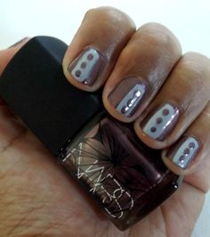 "Easy fall/winter nail art // NARS nail polish in ""Sherwood"" with Duri's ""Don't Think Twice"""