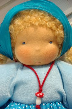 12 inch toddler doll by AlicaK of Germany.