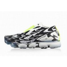 newest 62a6a 9cf04 ... Football Boots Online For Sale. Online Billig Herren Klassisch Nike Air  Vapormax FK Moc 2 Acronym Neu Schwarz Weiß Fluoreszierend Grün