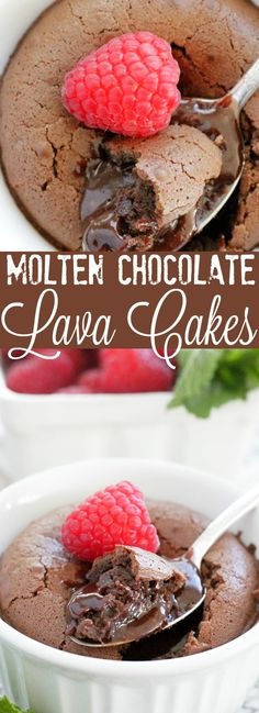 Molten Chocolate Lava Cakes | Foodtastic Mom