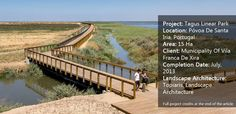 A review of the awesome Tagus Linear Park, by Topiaris Landscape Architecture, in Póvoa de Santa Iria, Portugal.