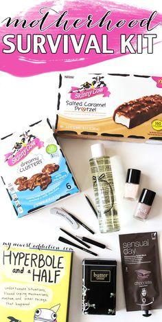 Motherhood Survival Kit - My Newest Addiction Beauty Blog