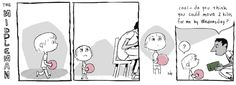 An animated comic strip about common childhood problems...    -by Anthony Holden