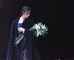 Sergei Polunin guest-starring as Albrecht in Act 2 of La Scala Ballet's Giselle. Photo by Monica Bragagnoli