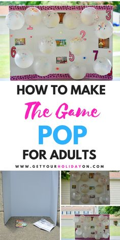 This game is perfect for that 8 foot full-grown mature elder that has pointy ears dirty toes a grown-up mustache and the biggest eyebrows lol. I'm only kidding of course this Simple DIY Party Game For Adults is suited for any adult shindig you wan Office Party Games, Diy Party Games, Holiday Party Games, Adult Party Games, Adult Games, Ideas Party, Diy Games, Diy Party Activities, Adult Party Ideas