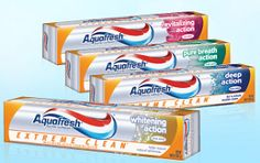 $0.50 off Aquafresh Extreme Clean Toothpaste Coupon on http://hunt4freebies.com/coupons