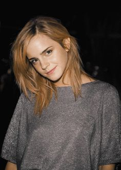 Emma Watson - I hate how celebrities can go all casual but still look amazing... makes us non-celebrities look even worse!