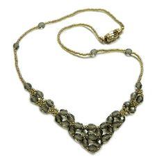 My Lovely Beads :: Necklace - Gray Beauty