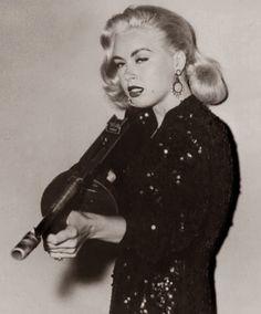 Jeanne Carmen in: Guns Don't Argue, 1957. Source