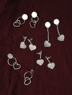 Hearts Earrings Cute Earrings, Heart Earrings, Drop Earrings, Kendra Scott Danielle Earrings, Heart Jewelry, Love Heart, Hearts, Heart Pendants, Heart Of Love