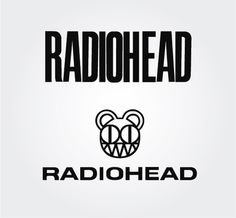 Radiohead Rock Band Vector Logo