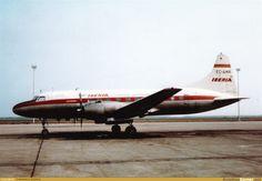 Convair 440 | 666 views aircraft iberia convair cv 440 metropolitan ec amr location ...