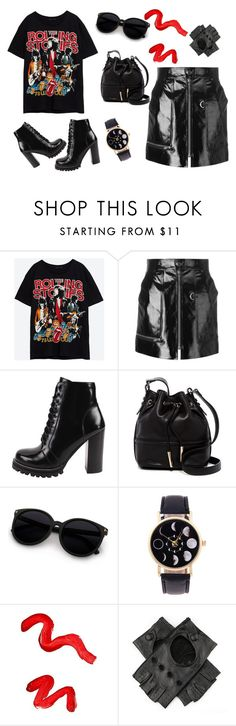 """""""Outfit Rock"""" by thebestmery on Polyvore featuring Isabel Marant, Jeffrey Campbell, French Connection, Topshop e Black"""