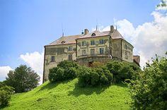 Olesko Castle, Lviv region, Ukraine. Побудуй свій Олеський замок з конструктора http://eko-igry.com.ua/products/konstruktor-z-keramichnyh-zeglynok-olesjkyj-zamok