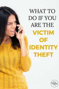 Being a victim of identity theft is absolutely horrible. There is nothing worse then knowing a scammer has all of your private information. After having my identity stolen I wrote these nine steps every identity theft victim needs to take immediately to Identity Theft Insurance, Identity Fraud, Ways To Save Money, Money Tips, Money Saving Tips, Wealth Management, Money Management, Financial Tips, Financial Planning